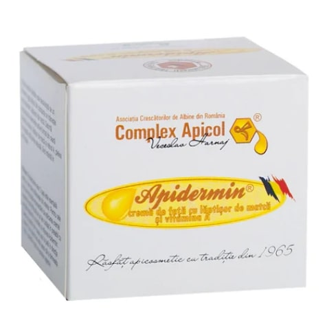Crema de fata romaneasca anti-aging APIDERMIN